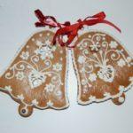 Medový perník zdobený – vánoční zvonky
