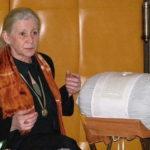 Jana Kaplanová při paličkování