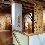 Výstava dřevořezeb Václava Plechatého v Muzeum Českého ráje v Turnově