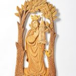 Dřevořezba sv. Barbora