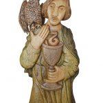 Sv. Jan – dřevořezba na orloji Kryštofově údolí