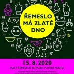 Řemeslo má zlaté dno, řemeslný jarmark u Muzea Českého ráje v Turnově, 15. srpna
