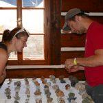 Den s mineralogem, burza drahých kamenů