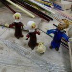 Skleněné figurky z dílny Jiřiny Štrynclové