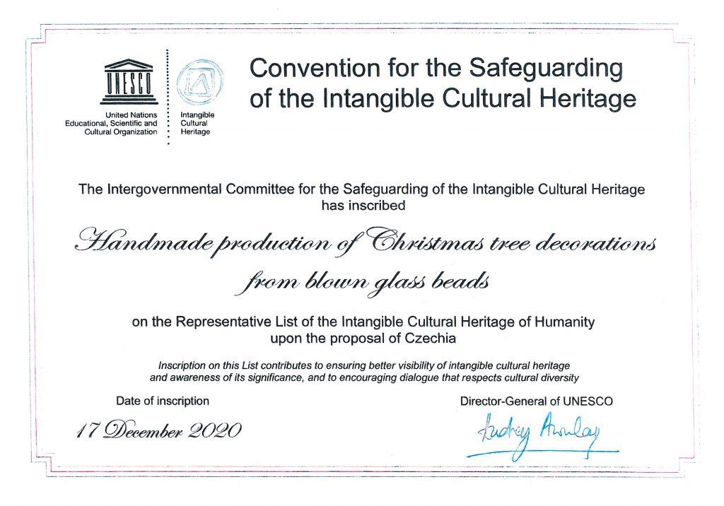 Reprezentativní list UNESCO