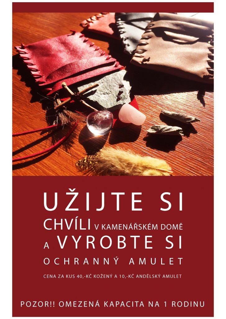 Výroba amuletu a talismanu v Kamenářském domě