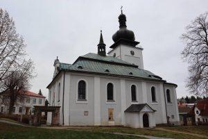 Kostel Navštívení Panny Marie v Bozkově