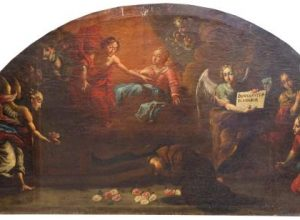 Luneta – restaurovaný obraz