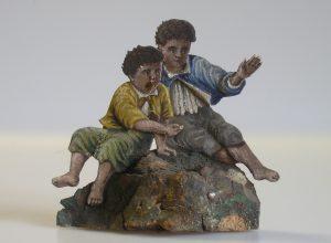 Betlémové figurky – restaurované exponáty